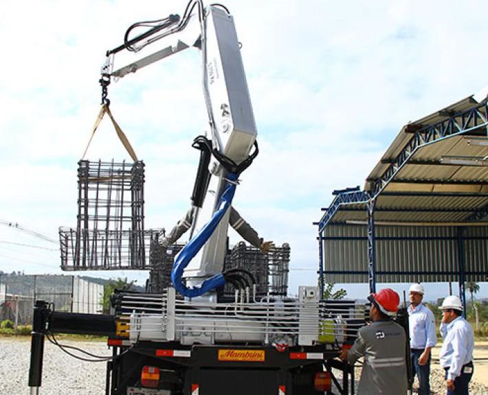 Transporte de Peças em Aço | Arm Cort